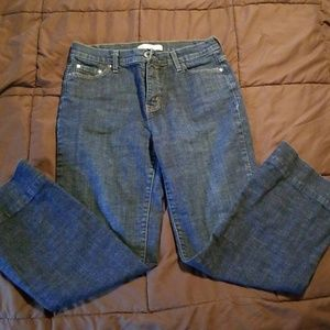 Levi Strauss and Co 512 bootcutblue Jean's size 12